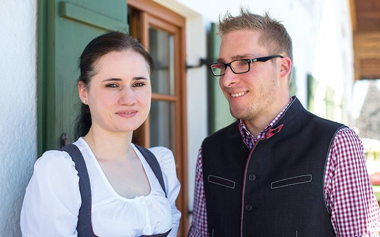 Coletta Walter und Florian Gollrad
